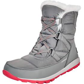 Sorel Whitney Short Lace Boots Women Quarry/Bright Rose